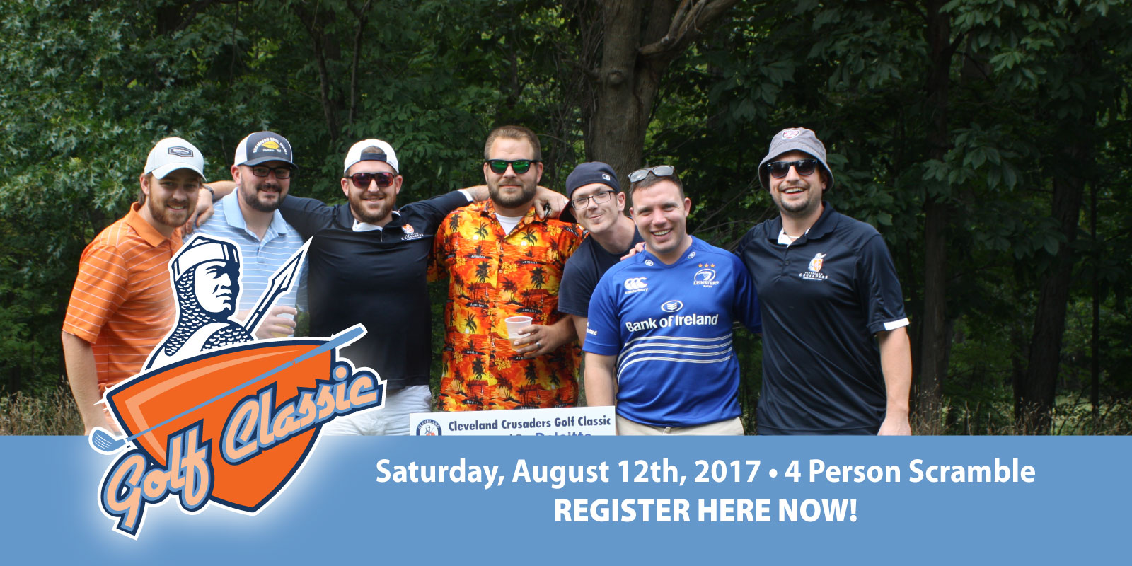 Cleveland Crusaders Golf Classic Three – Saturday, August 12th, 2017
