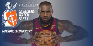 Cavaliers Watch Party – 12/16