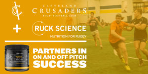 The Cleveland Crusaders Rugby Football Club Announces Official Nutrition Supplier for 2018