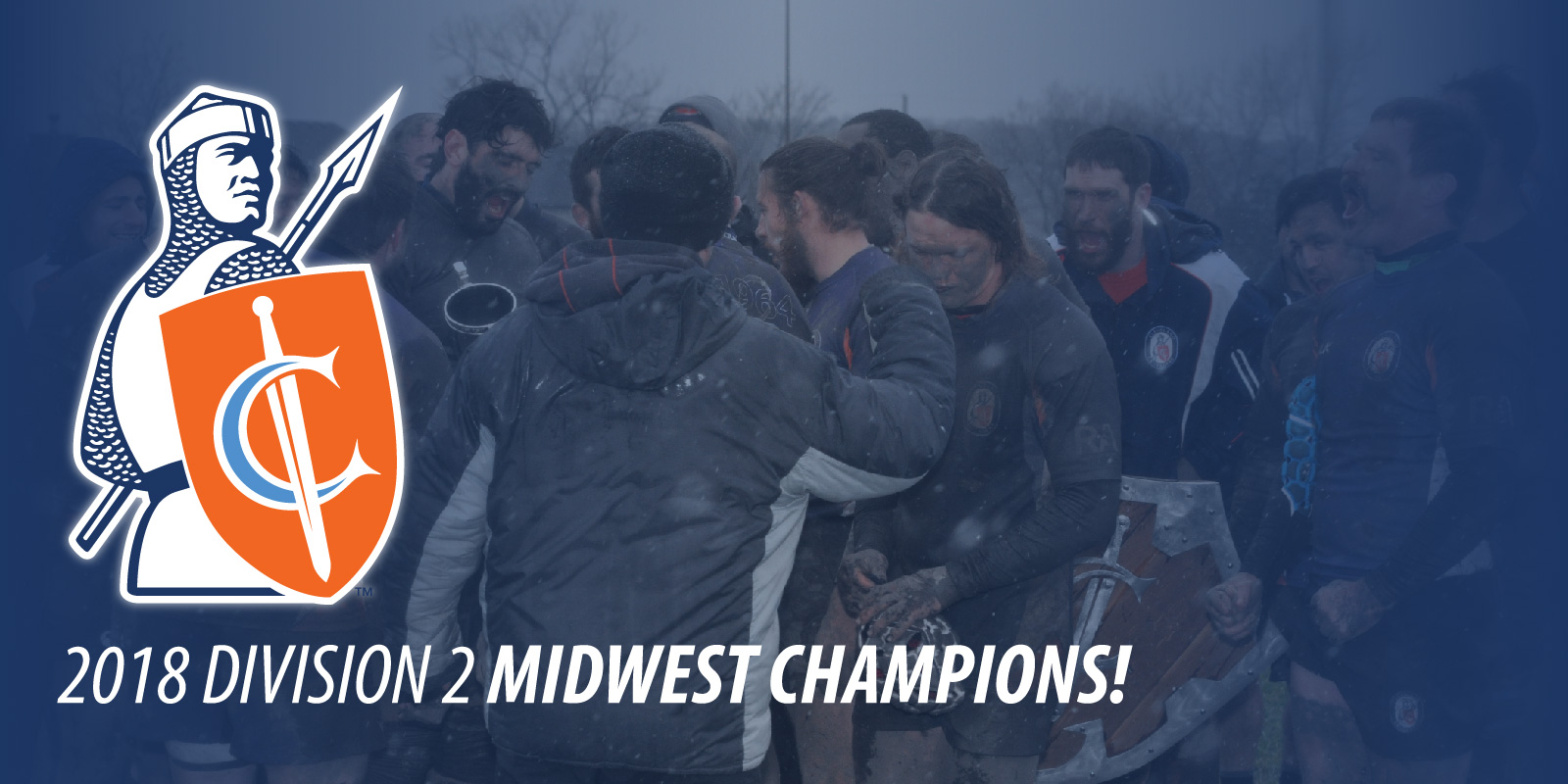 Midwest Champions!  Match Recap: 11-17-18 Cleveland Crusaders D2 vs Wisconsin Rugby D2