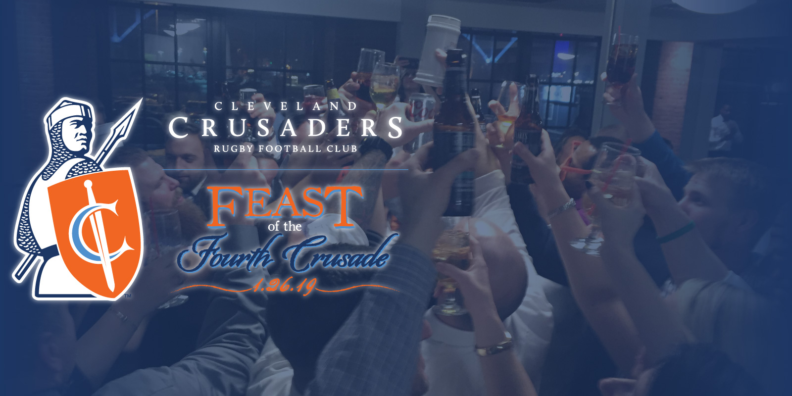 Feast of the Fourth Crusade and Awards Celebration!  Saturday, January 26th, 2019